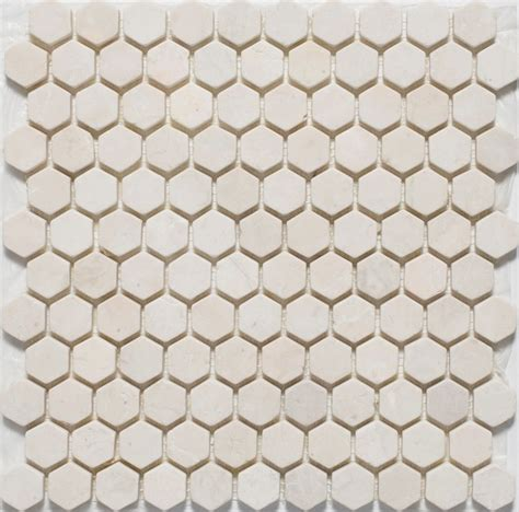 hexagon mosaic tiles traditional mosaic tile by mission stone tile