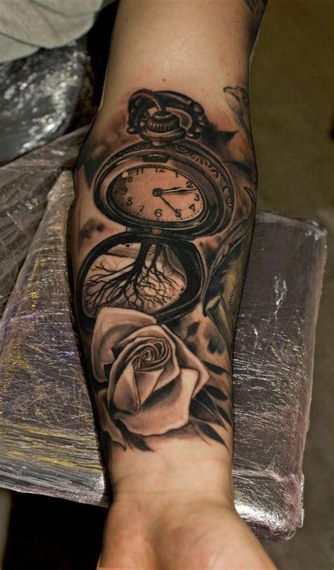 tattoo arm growth best 25 clock tattoos ideas on pinterest time clock