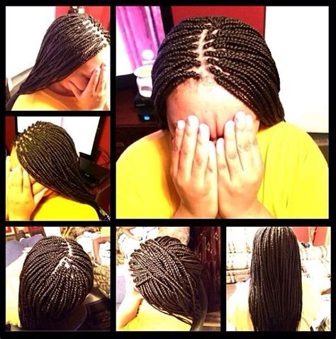 ends of my bushy box braids medium box braids w dipped ends perfect box braids