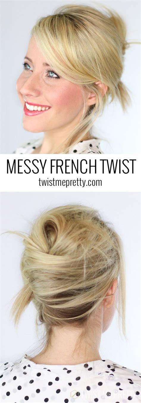messy french twist love this for wedding hair cute simple hair for days picmia