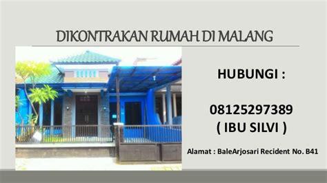 Pomade Murah Di Malang 08125297389 rumah kontrakan murah di malang kota