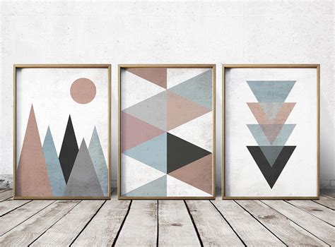 how to design printable wall art wall art prints abstract art prints geometric decor