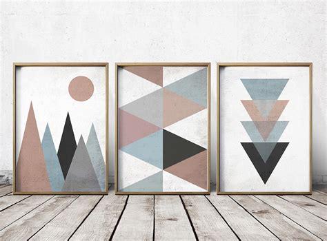 geometric pattern wall canvas wall art prints abstract art prints geometric decor