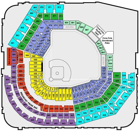 stl stadium seating chart stl cards seating chart busch stadium busch stadium