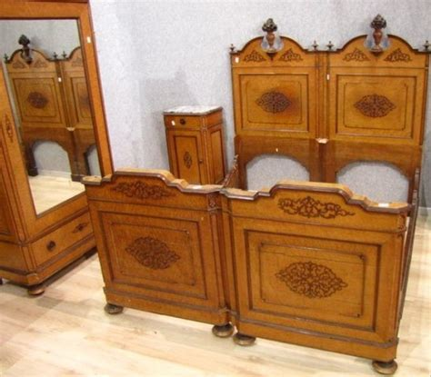 A241 Pair Of Italian Antique Twin Beds Circa 1830 For Antique Beds For Sale