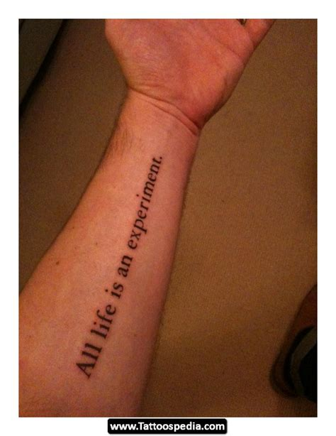 wrist tattoo inspirational quotes quotesgram