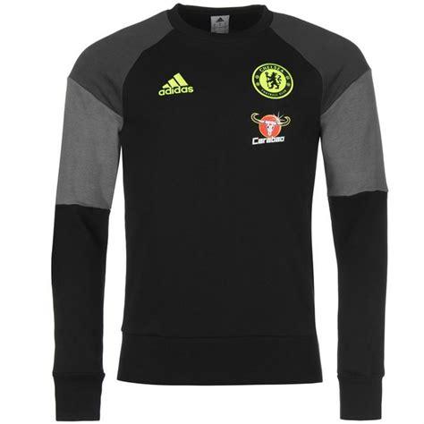 Sweater Chelsea 2015 adidas mens gents chelsea sweater football jumper crew neck sleeve clothing ebay