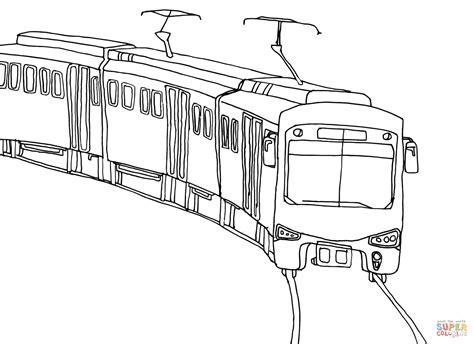 coloring page bullet train ausmalbild stadtbahn ausmalbilder kostenlos zum ausdrucken