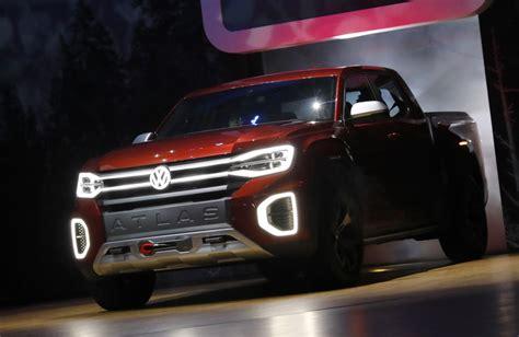 Vw New York Auto Show new york auto show volkswagen reveals atlas pickup truck