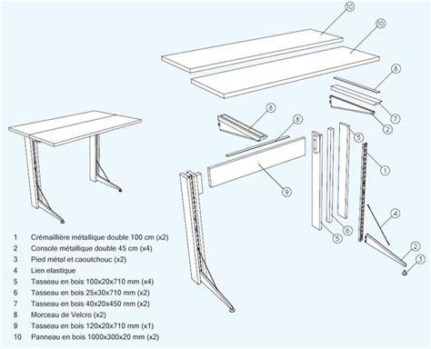 plan pour fabriquer un bureau en bois 3 id 233 es de bureau 224 fabriquer soi m 234 me esprit cabane