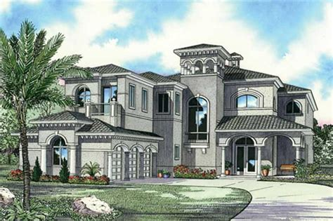 luxury house front design luxury home with 5 bdrms 5872 sq ft floor plan 107 1192