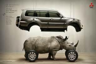 Mitsubishi Marketing Rhino On Design Humor Advertising And Pantone
