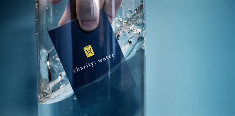 Charity Water Gift Card - charity water playing cards theory11