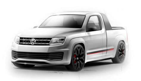 vw ute volkswagen amarok r style 600nm sports ute concept teased