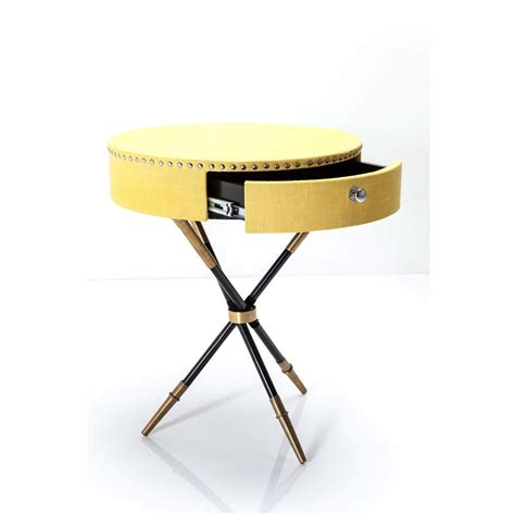 Yellow Side Table Uk Citrine Yellow Chic Side Table Bedroom Company