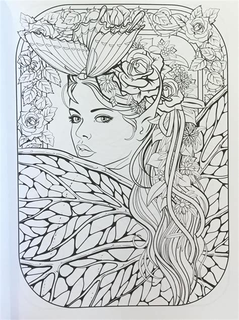 colouring book for adults guardian pin by cristina b on fairies coloring pages