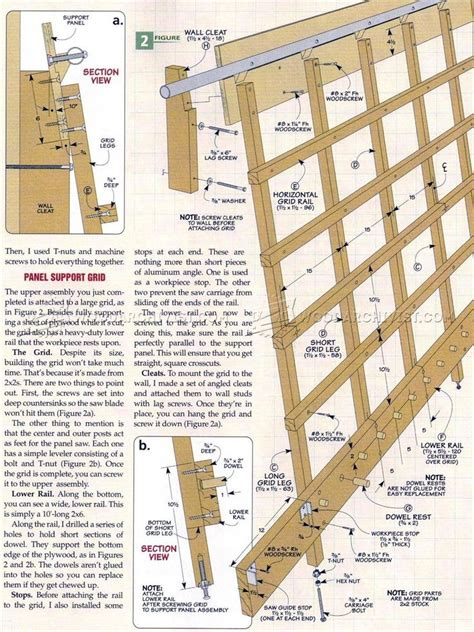 panel saw woodworking plan 518 best images about atelier on block plan