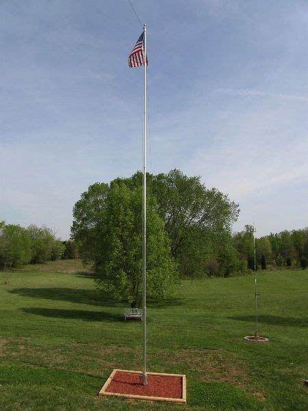 flagpole multiband vertical antenna vertical antenna zerofive antennas jim bailey s ham and c