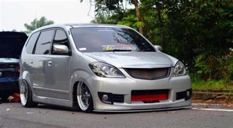 Kasur Mobil Avanza Jok Belakang 30 gambar modifikasi mobil avanza keren terbaru modif drag