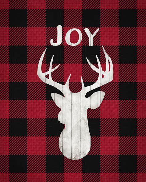 free download simplify your holiday with these printable free buffalo check plaid christmas printables