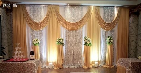 wedding drapery backdrop 2015 wedding backdrops for wedding decoration twinkle