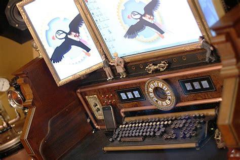 Cockpit Computer Desk Organ Command Desk Steunk Home Tour