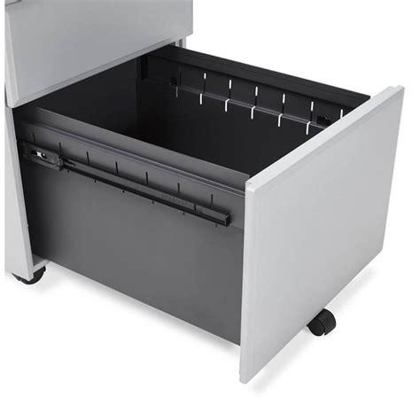 caisson bureau design caisson de bureau design 3 tiroirs mathias en m 233 tal gris
