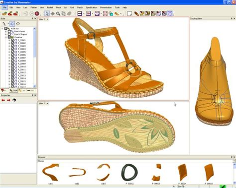 shoes pattern design software shoe cad 187 page 2 187 vip software