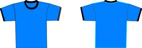 Tshirt Kaos Baju Jason blue t shirts clip at clker vector clip