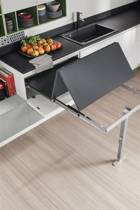 cucina tavolo il tavolo da cucina stosa propone design e tecnologia