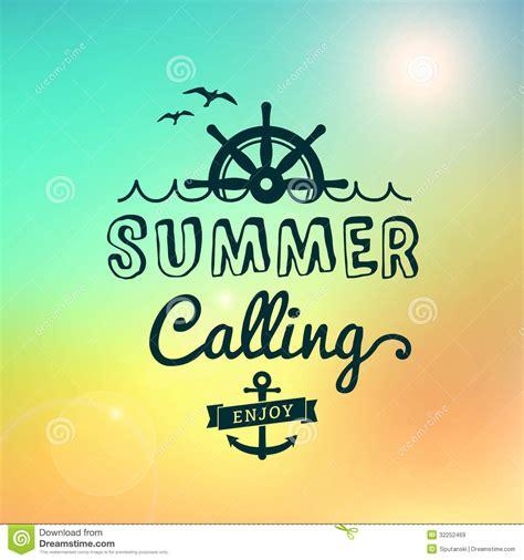 imagenes vintage verano disfrute del verano que llama el cartel del vintage de