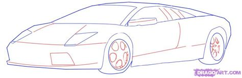 how to draw a car drawing fast race sports cars step by step draw cars like buggati aston martin more for beginners books race car sketch