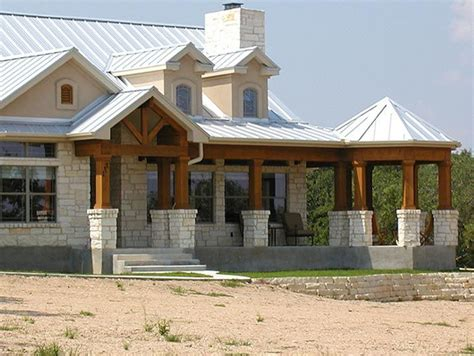 Metal House Plans With Wrap Around Porch | unique ranch house w steel roof wrap around porch hq