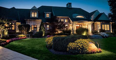 house landscape lighting ten landscape lighting tips for curb appeal that wow s