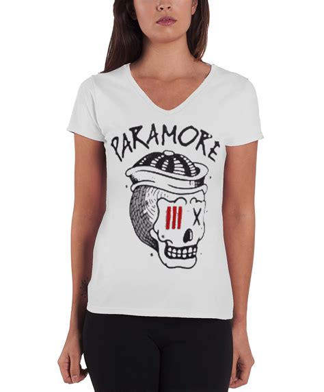 T Shirt Paramore New 04 paramore t shirt womens hayley band logo still into you new official fit ebay