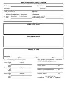 disciplinary template disciplinary form template free employee disciplinary