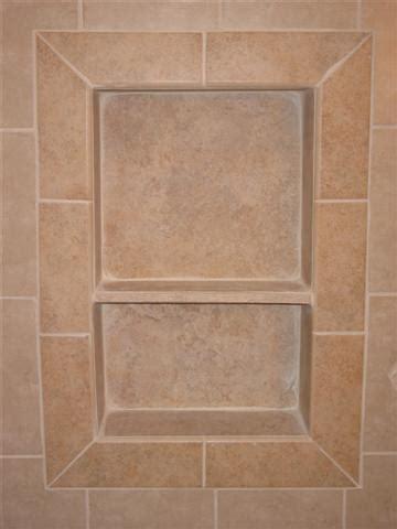 Bathroom Tiling Idea Picture Frame Niche Surface Bullnose Ceramic Tile