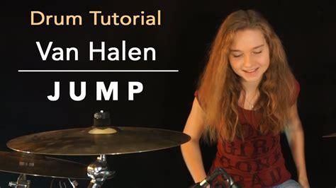 tutorial playing drum how to play jump van halen drum tutorial by sina youtube