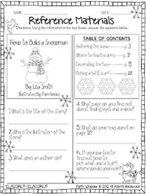 Library Skills Worksheets by 1000 Images About Library Skills On Library