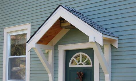 homemade door awning plans   diy easily