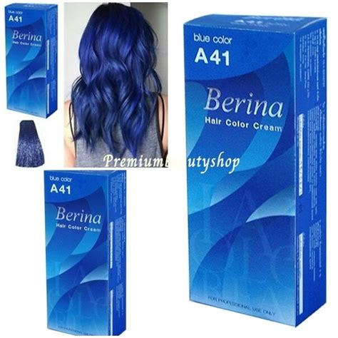hair color products ebay berina permanent color hair dye blue a41 free shipping ebay