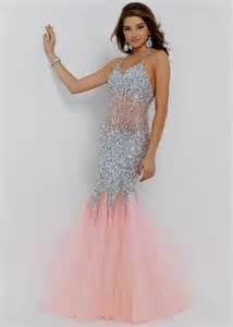 colored prom dresses blush colored mermaid prom dress naf dresses