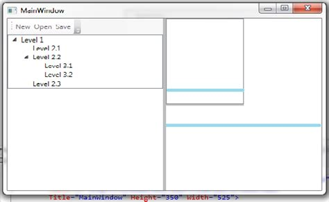 grid layout in wpf c stretching grid inside another grid stack overflow