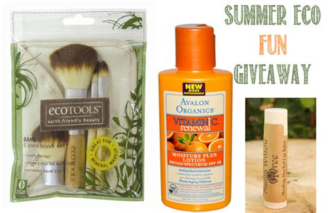 Fun Summer Giveaways - summer eco fun giveaway sweet greens