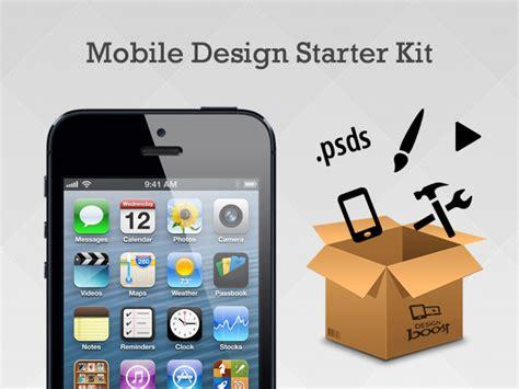 mobile application design kit the mobile app professional design starter kit
