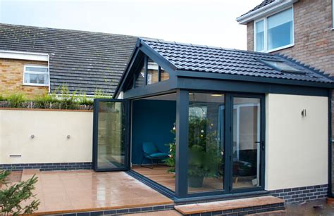 house extension designs contemporary garden room west yorkshire transform architects house extension