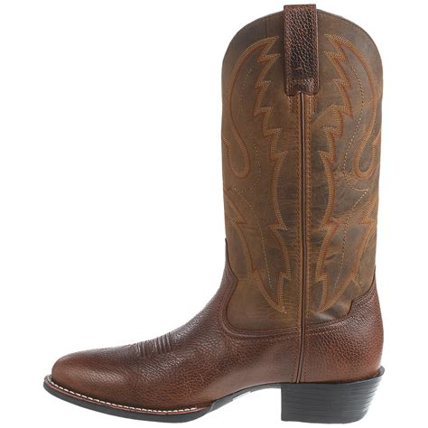 cowboy shoes for ariat sport r toe cowboy boots for save 33