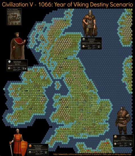 civ v africa map civilization 5 scenario 1066 year of viking destiny map