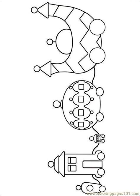 garden party coloring pages ninky nonk colour in quot in the night garden quot party