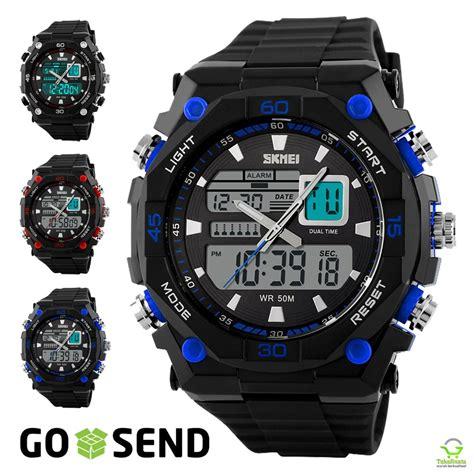 Jual Skmei Resin Jam jual jam tangan skmei original sport anti air baru jam